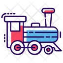 Train Engine Steam Train Transport Icon