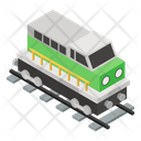 Train Engine Transport Railway Icon