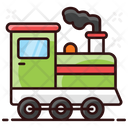 Train Engine Locomotive Train Rail Engine Icon