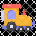 Train Engine Locomotive Engine Toy Icon