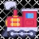 Train Pollution Train Engine Train Smoke Icon