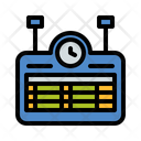 Train Schedule Train Routine Train Timetable Icon