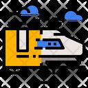 Train Shipping Icon