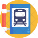 Public Transport Train Sign Icon