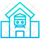 Railway Station Station Building Icon