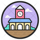 Train Station Conveyance Station Train Terminal Icon
