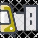 Tram Stop City Destination Icon