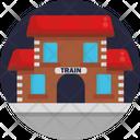 Public Transport Train Station Icon
