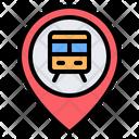 Train Station Location Train Subway Icon