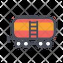 Track Train Tank Transport Icon