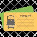 Train Ticket Railway Icon