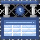 Train Timetable Icon