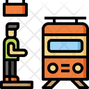 Train travelling Icon