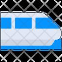 Bullet Train Train Vehicle Transport Icon