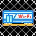 Train Wifi Wagon Wifi Icon
