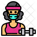 Trainer Fitness Occupation Icon