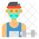 Trainer Avatar Mask Icon
