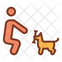 Training Dog Training Dog Coach Icon