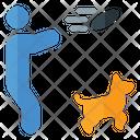 Training Dog Training Dog Coach Icon
