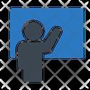 Presentation Board Training Icon