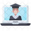Training Course Online Shop Icon