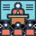 Training Instruction Teaching Icon