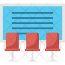 Training Session Board Presentation Icon