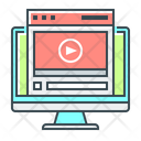 Training Videos Webinar Webinar Online Icon
