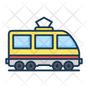 Railroad Train Tram Icon
