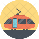 Delivery Route Tram Icon