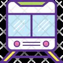 Tram Train Electric Icon