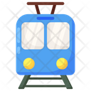 Electric Train Tram Train Icon