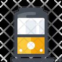 Tram Vehicle Transport Icon