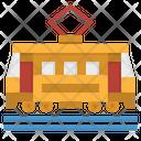 Tram Underground Transportation Icon