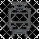 Tram Railway Travel Icon