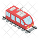 Train Tram Transport Icon