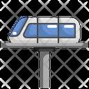 Tram Metro Sky Train Icon