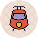 Tram Train Travel Icon