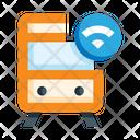 Tram Train Internet Icon