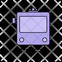 Tram Transport Trolleybus Icon