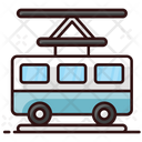Tramcar Tramway Cable Bus Icon