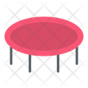 Trampoline Jumping Bounce Icon