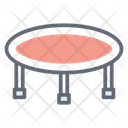 Trampoline Jumping Jack Jumping Pad Icon