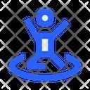 Human People Trampoline Icon