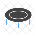 Trampoline Amusement Park Icon