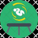 Trampoline Acrobatic Icon