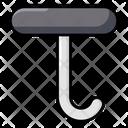 Weight Hook Hanging Hook Trampoline Hook Icon