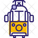 Tramway Traveling City Icon
