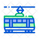 Public Transport Tramway Icon