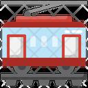 Tramway Train Streetcar Icon